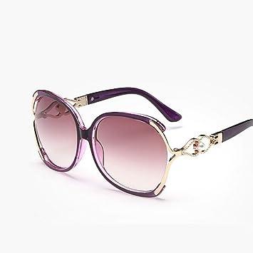 QDE Gafas de sol Gafas De Sol De Mujer De Gran Tamaño con ...
