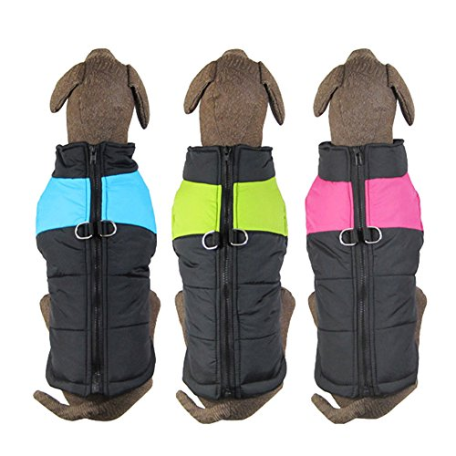 CHN'S Comfortable Pet Dog Clothes Winter Warm Vest Jacket Coat Sport Clothing