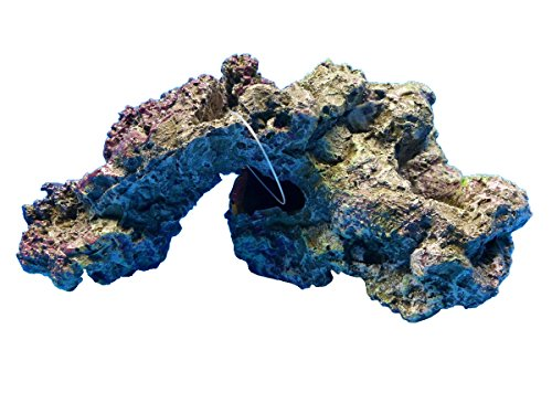 Live Rock Replica FantaSea 28798 Realistic Polyresin Hand Painted Aquarium Ornament from FantaSea Aquarium