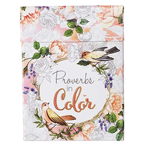 Pdf Crafts Proverbs in Color: Cards to Color and Share