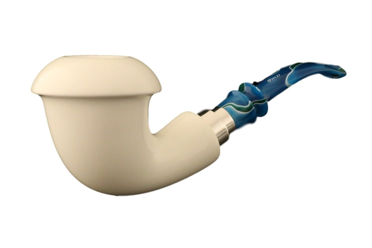 IMP Meerschaum Pipe - Sherlock Holmes - Meerschaum Pipe - Hand Carved from The Best Quality Block Meerschaum - Comes in a CASE - New