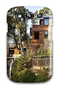 Premium Durable Architecture Home Quarters Fashion Tpu Galaxy S3 Protective Case Cover