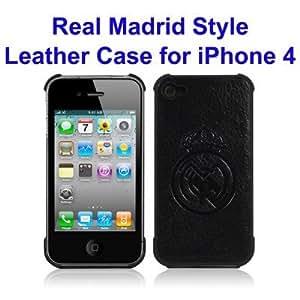 APM - Carcasa cuero real madrid para iphone 4/4s