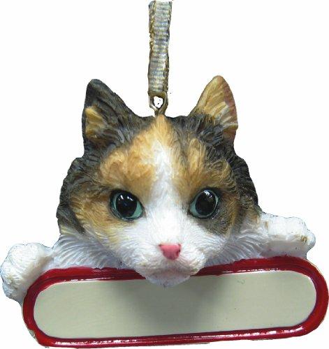(Calico Cat Ornament