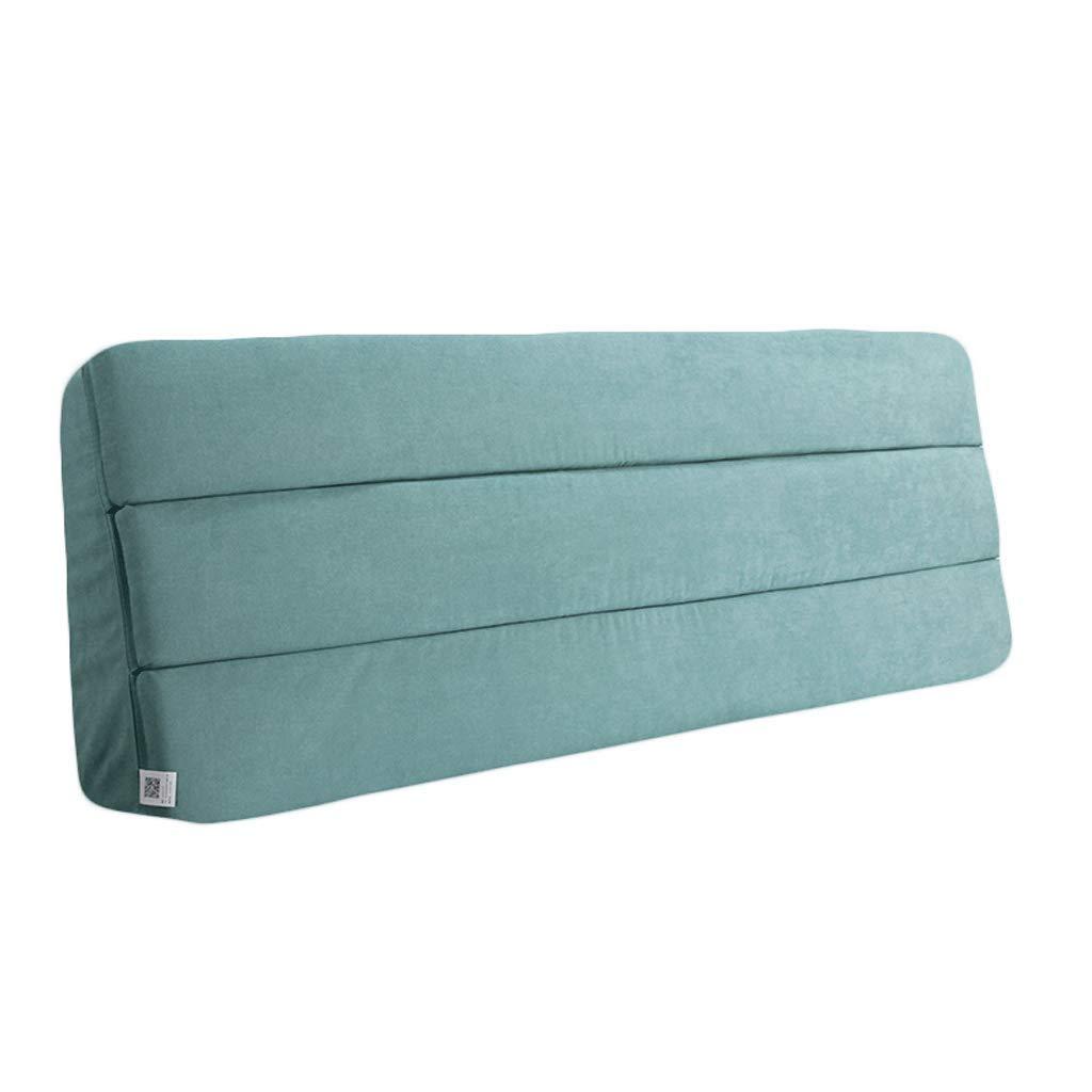 【海外限定】 ベッドサイド : サイズ ダブルベッドサイドクッションベッド背もたれソファ装飾された柔らかい枕腰椎パッド取り外し可能 (色 : ピンク, サイズ ピンク, さいず : 180X55CM) B07RHCXPNH 160X55CM 青 青 160X55CM, artract:65150637 --- mail.mrplusfm.net