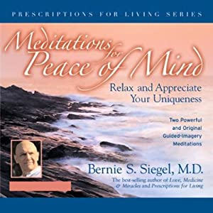 Meditations for Peace of Mind Speech