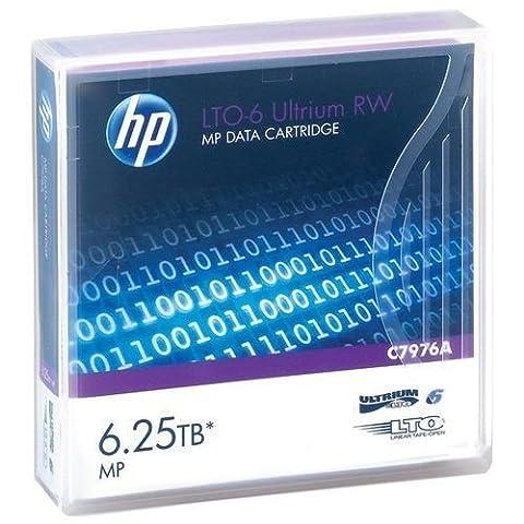 10-Pack HPE LTO 6 Ultrium C7976A (2.5/6.25 TB) Data Cartridge (Hp Cartridge 10)