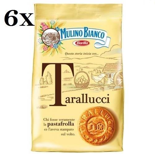 6 x Mulino Bianco Galletas tarallucci 350 g Italia Biscuits Cookies tartas Brioches: Amazon.es: Alimentación y bebidas