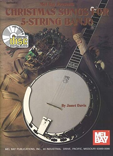 Amazon.com: Mel Bay Christmas Songs for 5-String Banjo ...