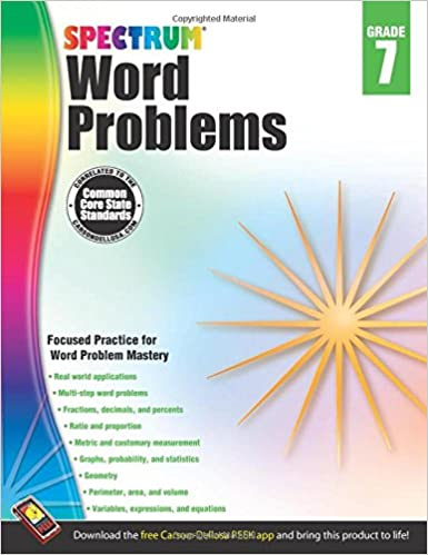 Read online Word Problems, Grade 7 (Spectrum) PDF, azw (Kindle), ePub