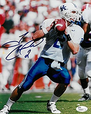 Tim Couch Signed University of Kentucky Autographed 8x10 Photo JSA #R98691