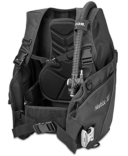 Dacor Nautica XVI Weight Integrated BCD Buoyancy Compensator, Black, Large