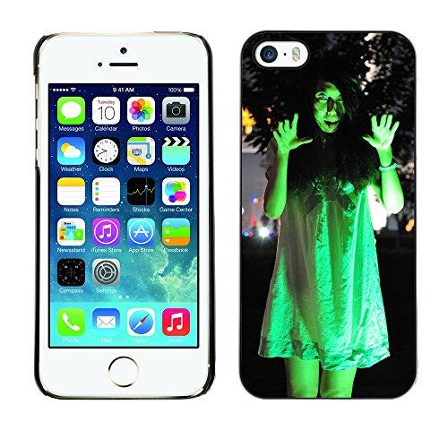 Premio Sottile Slim Cassa Custodia Case Cover Shell // V00001672 fantôme féminin // Apple iPhone 5 5S 5G