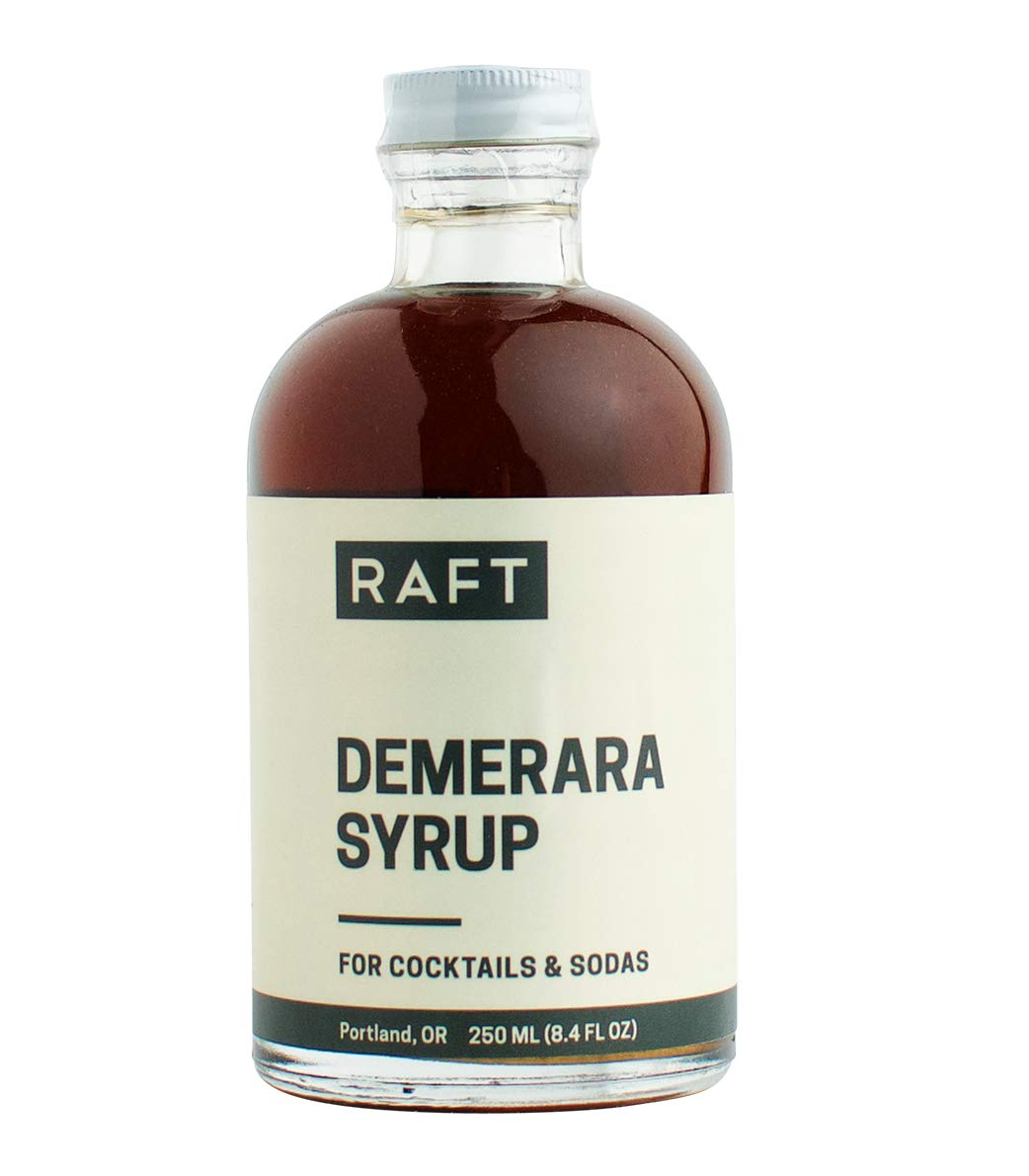 RAFT Demerara Syrup for Cocktails and Sodas, 250ml