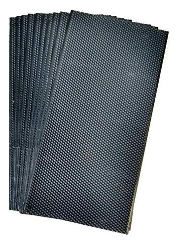 - Acorn Bee black plastic sheets wax coated deep foundation