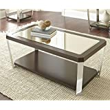 Steve Silver 48 in. Cocktail Table with Casters