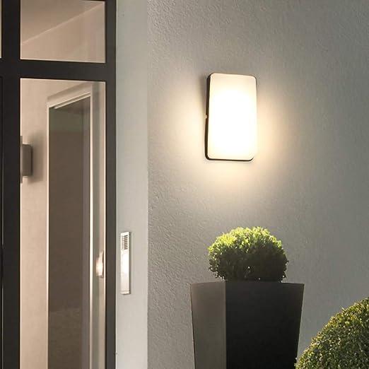 WXJWPZ Apliques De Exterior,IluminacióN Exterior DiseñAdo para Jardines Y Patios Apliques De Exterior para Jardin para Salon Dormitorio Sala Pasillo Escalera: Amazon.es: Hogar