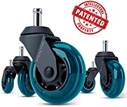 related image of STEALTHO Replacement Office Chair Caster Wheels Set