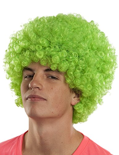 [Sunset Intimates Ravin Lime Wig, Green] (Lime Green Wigs)