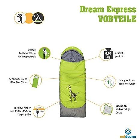 64b79f6e1ed75 Outdoorer Dream Express Junior Sleeping Bag