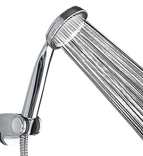 Super High Pressure Boosting Low Bath Shower Head Water Saving Health Filter UK SWB