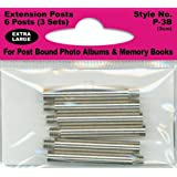 Pioneer Extra Long Extension Posts for all Post Bound Albums, 6-Posts (1)