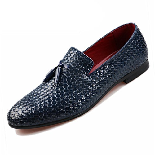 Leather Men Pigskin 48 Shoes Big PERFECY amp; Size Black Casual Shoes On Genuine Loafers 37 Slip R5wwIqHg