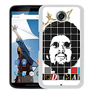Beautiful Designed Cover Case With Moodymann Head Haircut Glasses Name (2) For Google Nexus 6 Phone Case