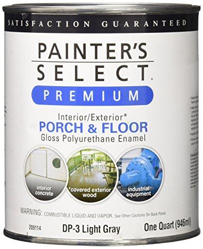 True Value DP3-QT DP3 1-Quart Grey Floor Enamel - Basement Concrete Floor Paint