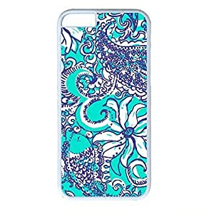 Andre-case Plastic case cover for iPhone 6 inch,ZENDOOP iPhone 6plus 5.5 case cover With monogram BPaWi5BW6hU Colorful Floral flowers Logo designKimberly Kurzendoerfer