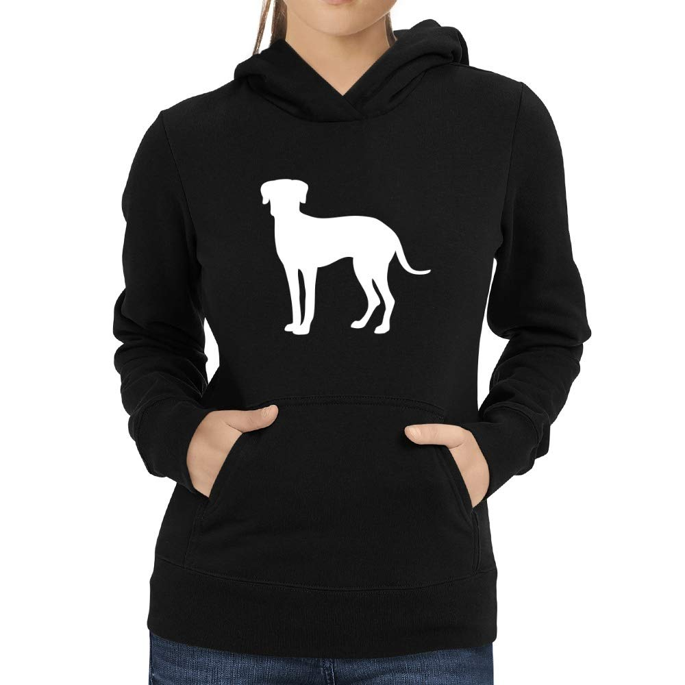 Eddany Catahoula Leopard Dog Shape Women Hoodie