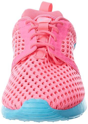 Nike Roshe One Flight Weight (GS), Zapatillas de Deporte Para Niñas Rosa (Rosa (Pink Blast / Gamma Blue))