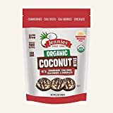 JENNIES, CCNUT BITES, OG2, CRAN GOJI, Pack of 6, Size 5.25 OZ - No Artificial Ingredients Gluten Free Wheat Free Yeast Free 95%+ Organic