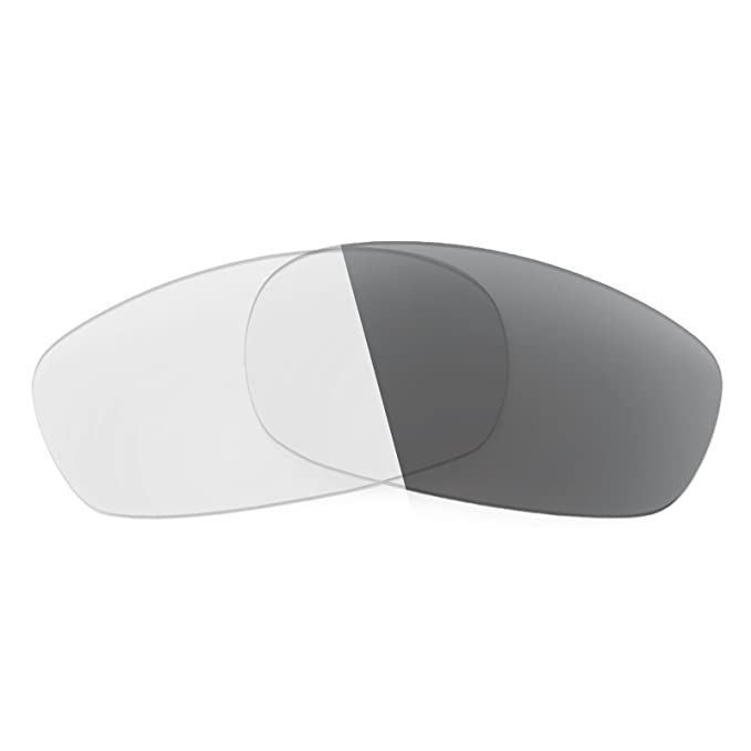 cf7af59326 Revant Replacement Lenses for Oakley Square Wire 2.0 Elite Adapt Grey  Photochromic  Amazon.co.uk  Clothing