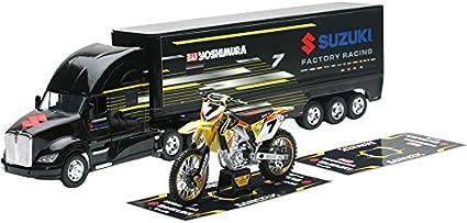 Suzuki RMZ 450 Stewart Yoshimura Toy Truck Motocross NEW New Ray Model