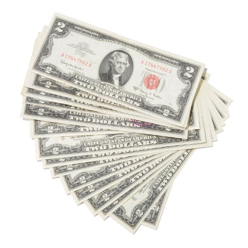 Deuces Galore - $2.00 Red Seal U.S. Note Collection! ()