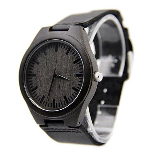 Shou & BZ hombres de relojes/ocio negocios/natural/bambú/reloj de
