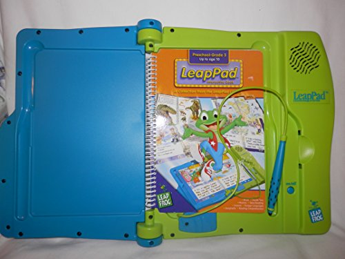 Leap Frog-Leap Pad Learning System Blue/green and 1-learning book Batteries included