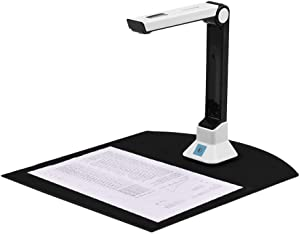 Document Camera Stand for Teachers Laptop, USB Portable Scanner with Real-time Projection Video Recording Versatility A4 Format, OCR Multi-Language Recognition for Classroom Distance Learning