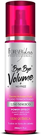 Forever Liss Bye Bye Volume Liso Magico Termoativo