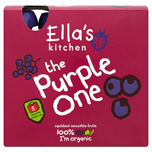 Ella's Kitchen - Smoothies - The Purple One - 5x90g (Case of 6) by Ella's Kitchen