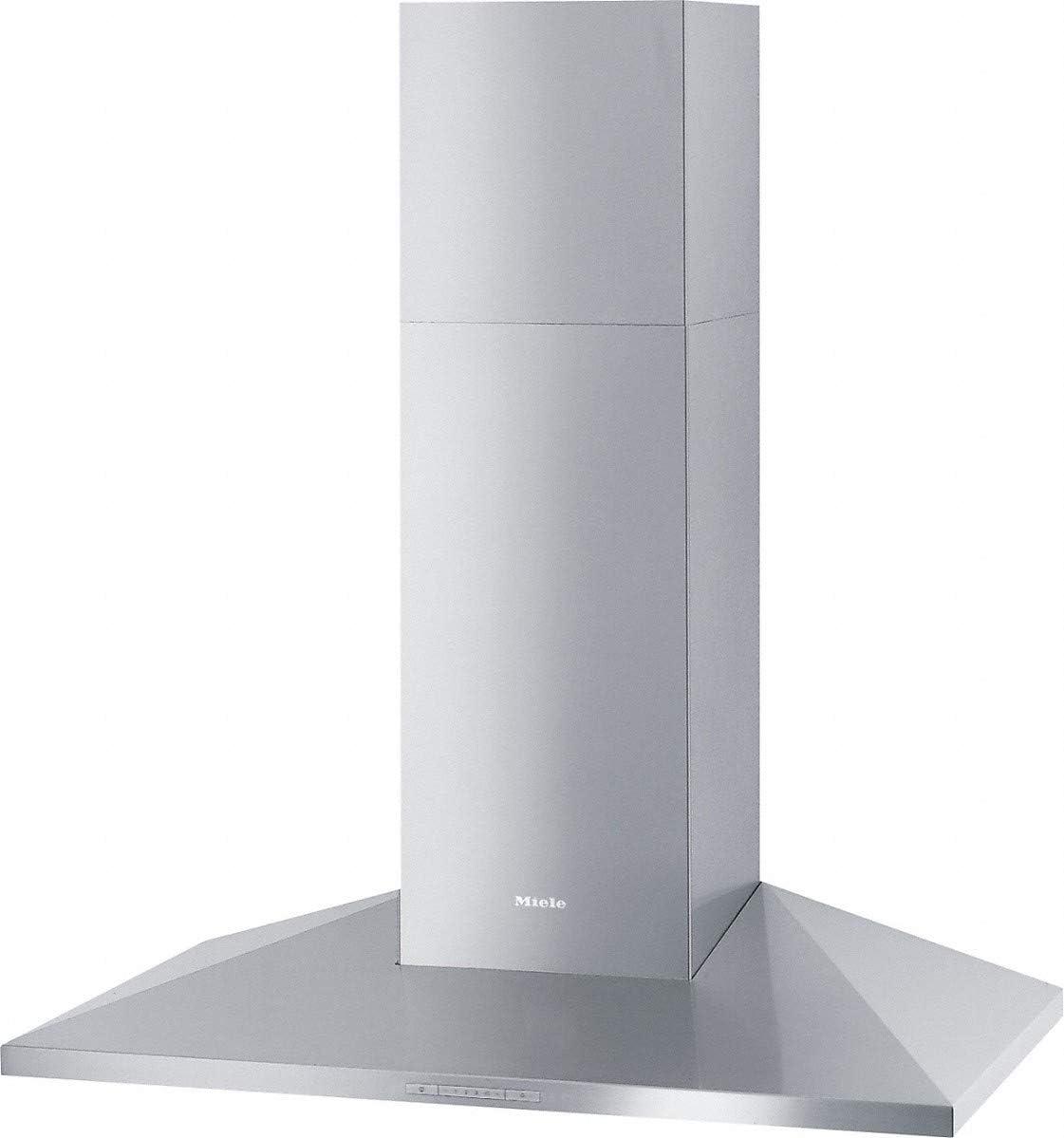 Miele DA 399-7 Classic De pared Acero inoxidable 500m³/h C - Campana (500 m³/h, Canalizado/Recirculación, D, A, A, 55 dB): Amazon.es: Hogar