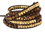 5 Wrap Bracelet with Tigers Eye and Faceted - Best Reviews Guide