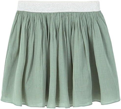 MANGO KIDS - Falda - para niña verde verde Large: Amazon.es: Ropa ...
