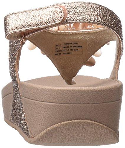 Rosa Flop Delle Vibrazione Sandalo Indietro Rosa Boogaloo Tm Di oro 323 Fitflop Donne fq4RPBwH