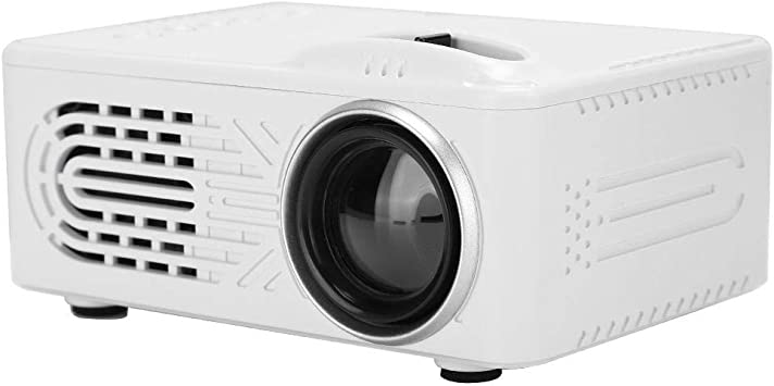 ASHATA Mini Video Projector, Smart HD Home Office Projector, Mini Poratble Projector White Housedhold Projector 1080P Soporte para Disco Duro móvil Externo (100-240V)(Blanco): Amazon.es: Electrónica