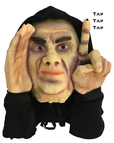 Scary Peeper Electronic Tapping Window Halloween Decoration -