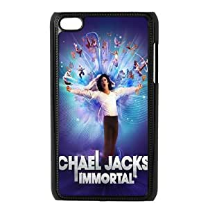 High Quality {YUXUAN-LARA CASE}Super Star Michael Jackson FOR IPod Touch 4th STYLE-17