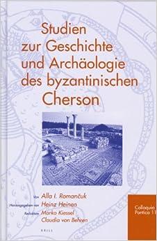 Descargar Torrent De Studien Zur Geschichte Und Archaologie Des Byzantinischen Cherson PDF Android