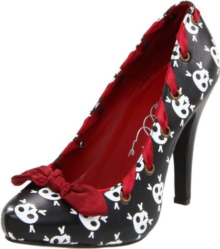 Ellie Shoes Womens 400-Ahoy Pump Black Polyurethane Dzxfyjtl